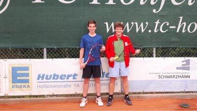 Vereinsmeister Jugend15 Doppel
