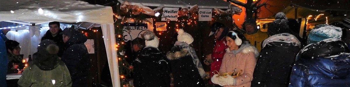 TCH Jugend am Weihnachtsmarkt aktiv