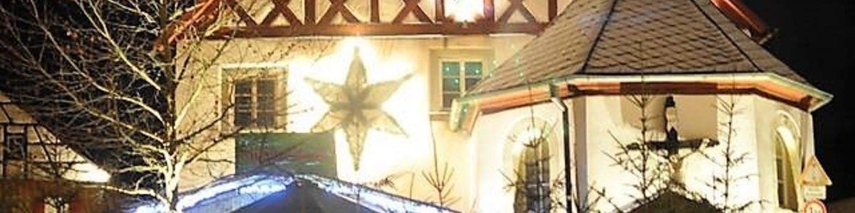 Vorweihnachtliche Stimmung beim Hollfelder Budenzauber