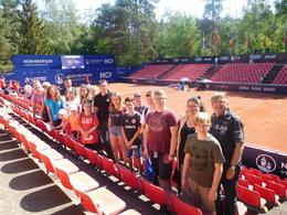 Unsere Jugend zu Besuch beim WTA in Nürnberg