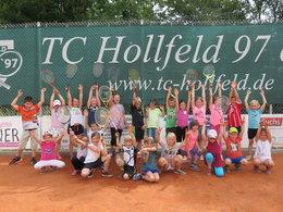 Tennis-Aktionstag der Grundschule mit dem TCH